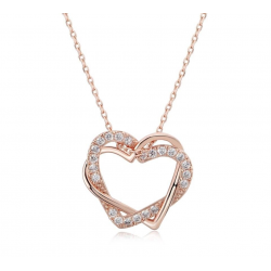 Austrian Heart Necklace w/ Earrings