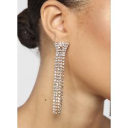 Diamond Clout Drop Earrings