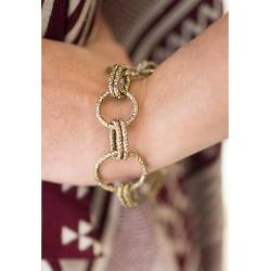 Covert Brass Bracelet