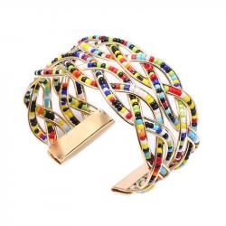 Chique Leather Wrap Bracelet