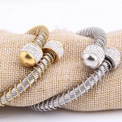 Zanzi Yurman Inspierd - Stainless Steel Cuff Bracelet