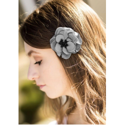 Floral Braided Bow Knot Headband